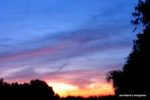 chasing sunset beauty