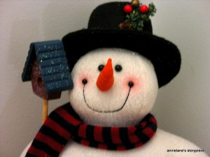 Happy snowguy