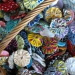 yo-yo quilt project